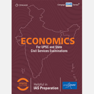 Prepmate UPSC Economics Book Cover